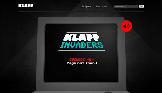error 404 klappmedia