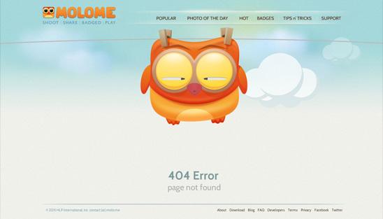 error 404 molome