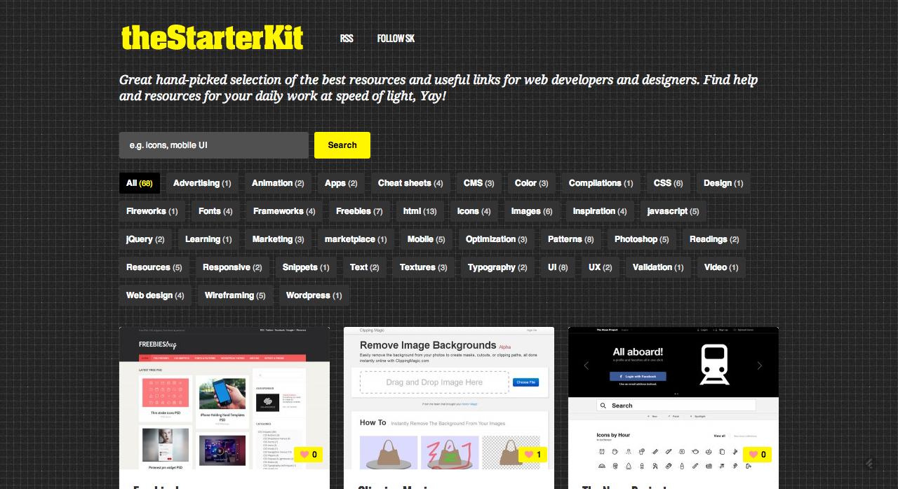 the starter kit