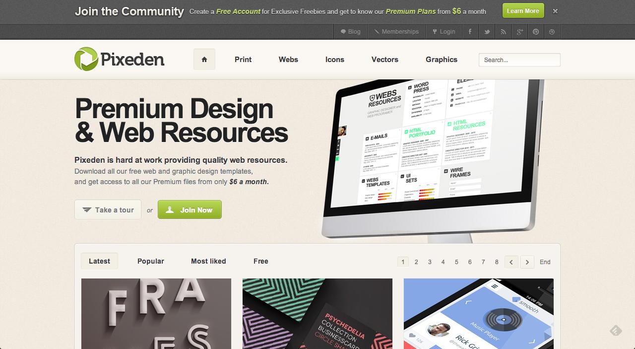 Captura de pantalla 2013 06 08 a las 15.41.41 10 páginas con recursos de diseño gratuitos