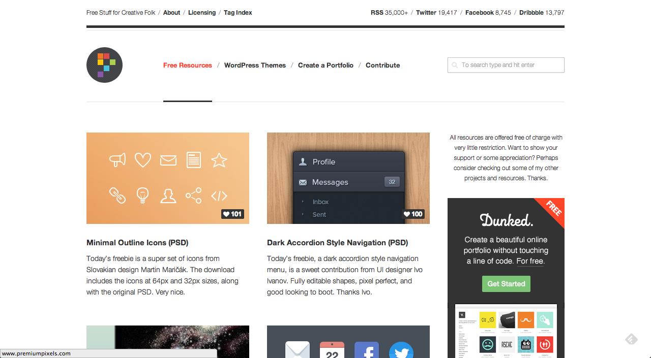 Captura de pantalla 2013 06 08 a las 15.44.17 10 páginas con recursos de diseño gratuitos