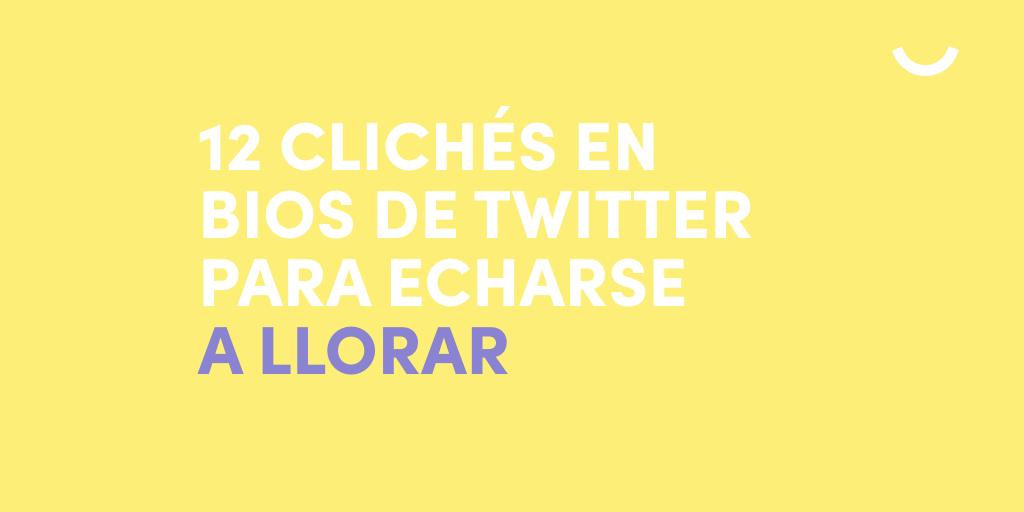 cliché-bio-twitter