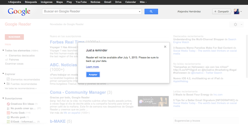 reminder-google-reader