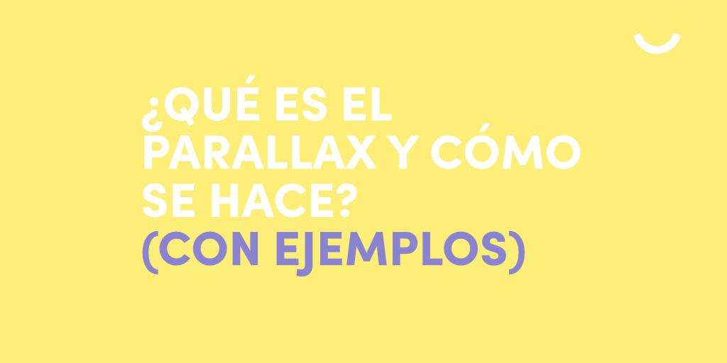 Parallax-ejemplos