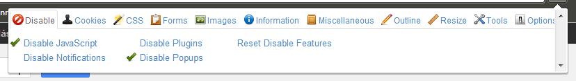 desactivar javascript Cómo hacer una web optimizada para SEO