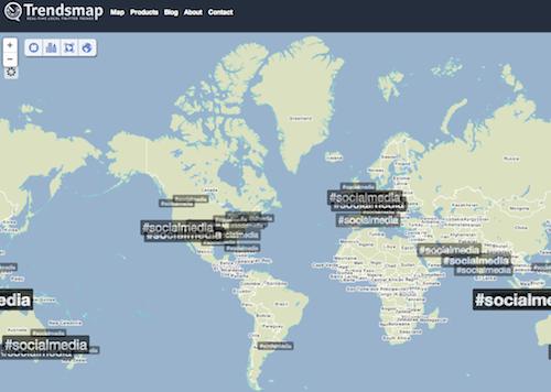 Trendsmap1 20 herramientas donde monitorizar un hashtag