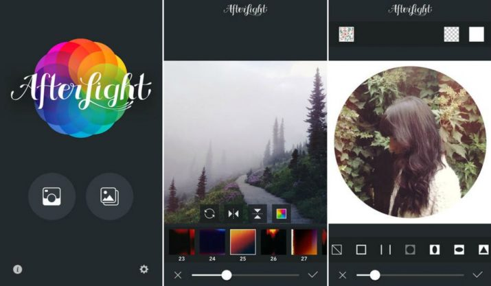 Apps para Instagram: Afterlight