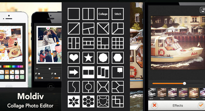 Apps para Instagram: Moldiv