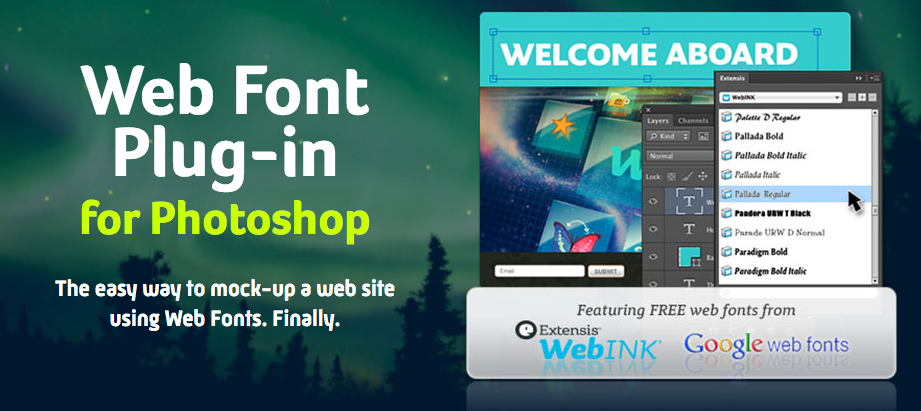 Web Font Plug-in