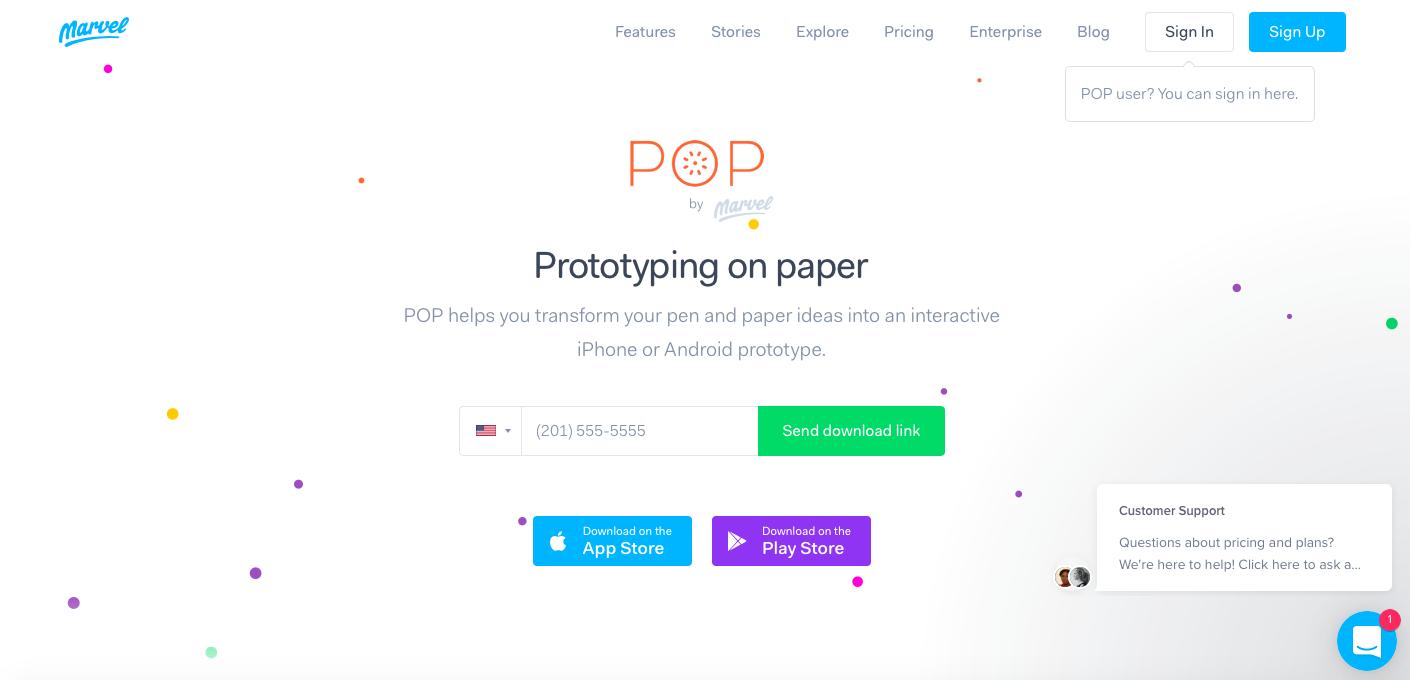 pop-app-diseño-movil