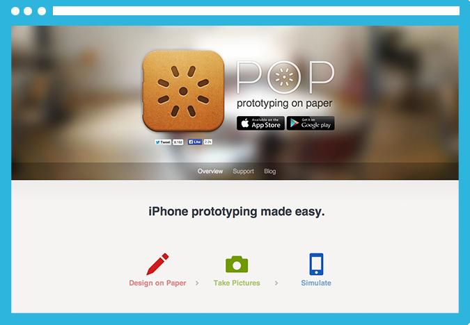pop Todos los recursos que necesitas para diseñar aplicaciones móviles