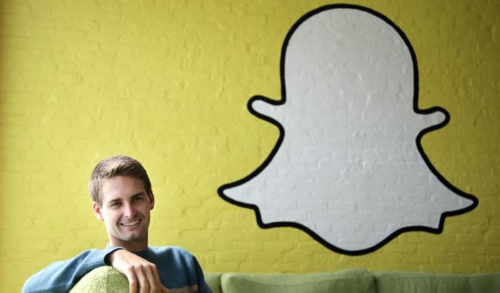 Evan Spiegel-Ceo de snapchat