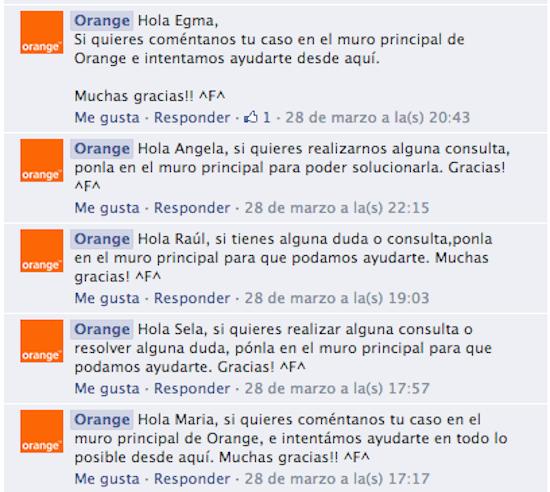 Orange2 Redes sociales: la panacea de la atención al cliente