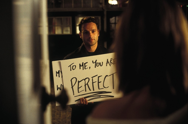 Quality: Original. Film Title: Love Actually. Photo: Peter