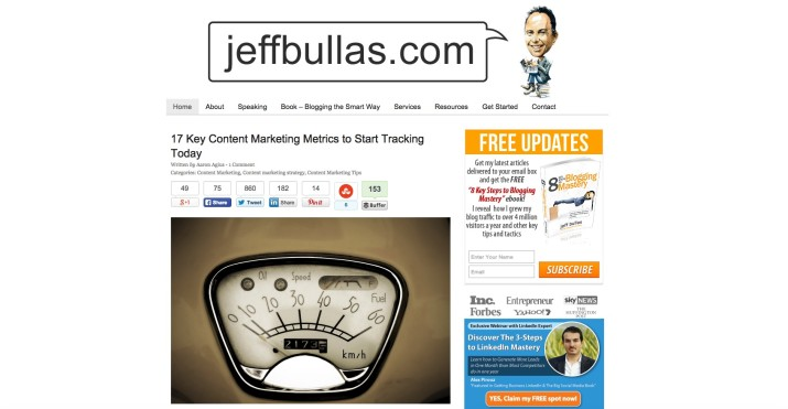 Blog Jeff Bullas