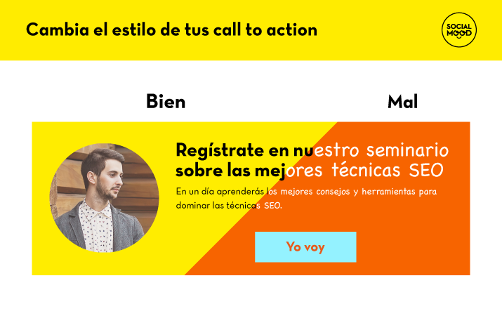 Cambia el estilo de tus call to action
