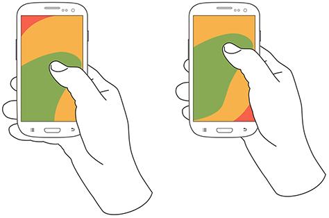 Scroll en dispositivos móviles