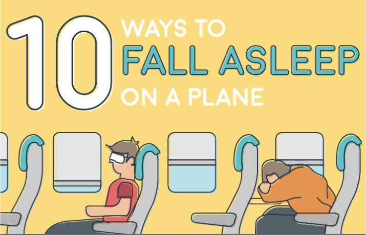 10 maneras de dormir en un avión